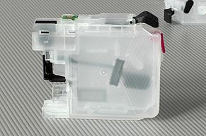Transparent, refillable cartridge for Brother LC-225