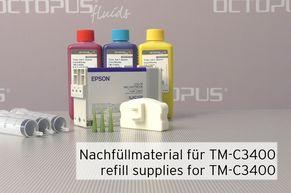Material zum Nachfüllen bei Epson TMC3400