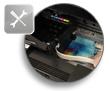 Anleitung Vorbereitung Drucker unsichtbare Tinte