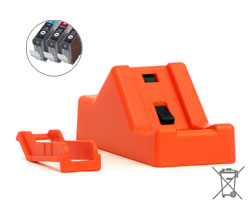 Chipresetter für Canon CLI-8, PGI-5 Patronen, Batteriebetrieb