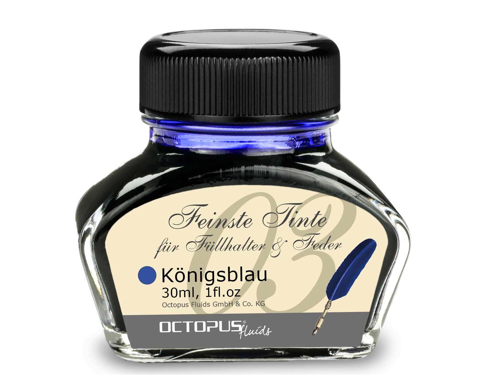 Inchiostro per penna stilografica, inchiostro da scrittura per penna stilografica, inchiostro per penna stilografica Blu Reale cancellabile