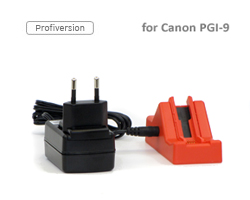 Chip resetter per cartuccia Canon PGI-9 con alimentatore