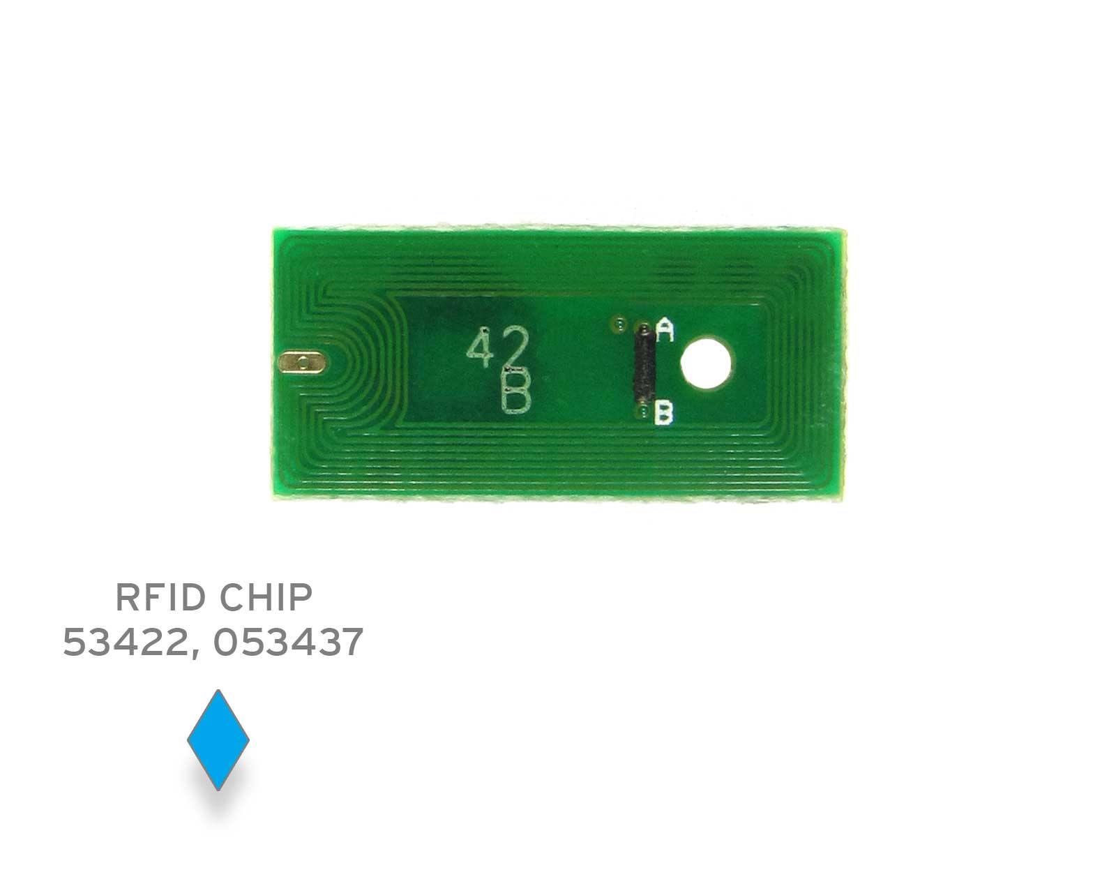 Chip for Primera LX 900 C cyan, single-use