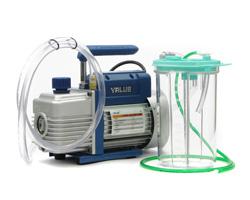Vakuumpumpe zum Ab-Ansaugen der Druckköpfe
