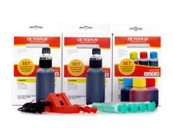 Set Chipresetter für Canon PGI-525, CLI-526 mit 3 Tinten Nachfüllsets
