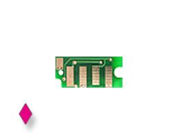 Toner chip per Epson Aculaser C 1700, C 1750, CX magenta