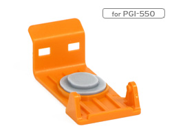 Transport caps, storage clips for Canon PGI-550, 570,580, 270, 25 caps
