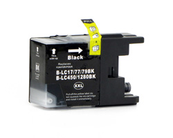 Compatible ink cartridge replacing Brother LC-1280 XL BK black