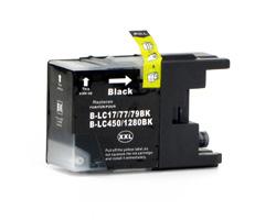 Kompatible Tintenpatrone ersetzt Brother LC-1280 XL BK schwarz