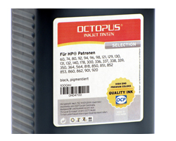 OCP Nachfülltinte HP 300, 301, 350, 364, 901, 920 black pigment