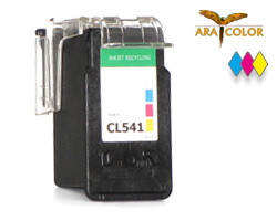 Remanufactured Canon CL 541 XL cartridge color for Pixma MG, MX