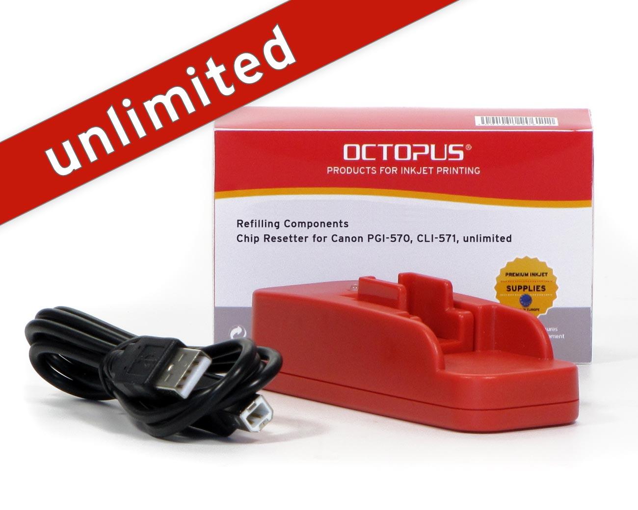 Chip Resetter per Canon PGI-570, CLI-571 con USB
