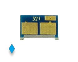 Toner Chip für HP LaserJet CP 1525, HP Pro CM 1415 cyan