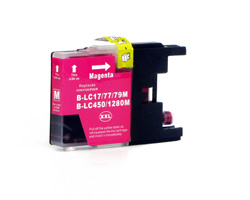 Compatible ink cartridge replacing Brother LC-1280 XL M magenta