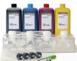 CISS für HP 970, 971, HP Officejet PRO X Tintenpatronen mit 4x1L Tinte