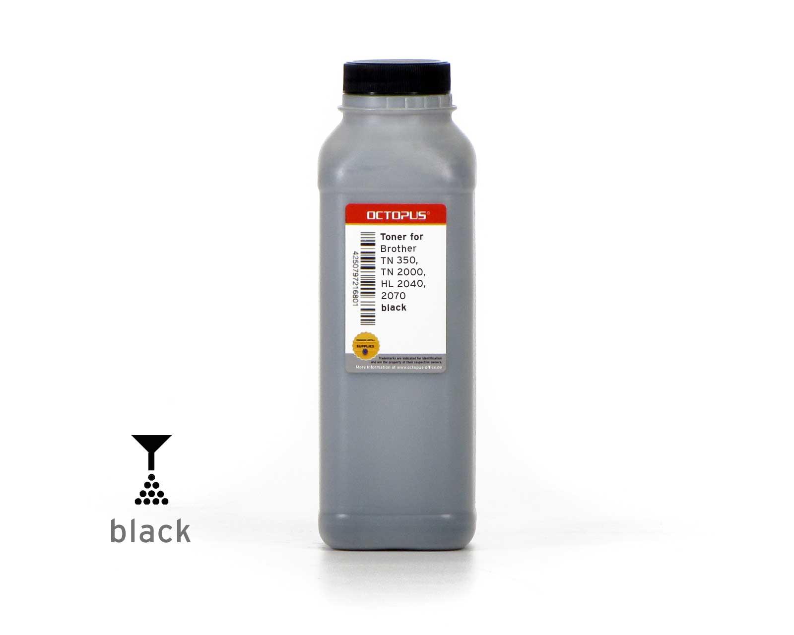 Toner powder , bulk toner for Brother TN 350, TN 2000, HL 2040, 2070 black
