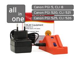 Canon Chipresetter PGI5, CLI8, PGI520, CLI521, PGI525, CLI526