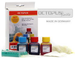 Kit di ricarica inkjet per HP 22, 28, 57 color, Refill Kit