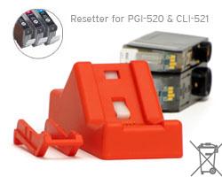 Canon Chip Resetter per Canon PGI 520, Canon CLI 521