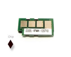 Toner chip di ricambio per Samsung ML 3310, 3710, SCX 4833, 5737