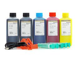 Chipresetter mit Tinte, Spritzen, Kanülen für Canon PGI-520, CLI-521