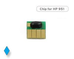 Chip für HP 951, CN050AE Druckerpatrone cyan