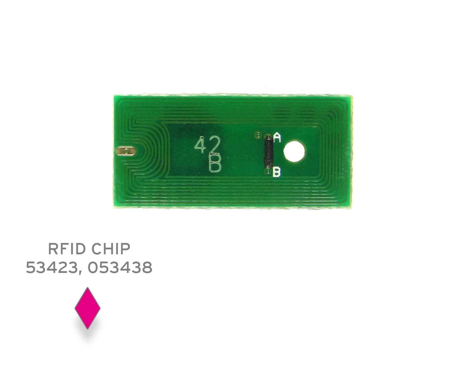 Chip for Primera LX 900 M magenta, single-use