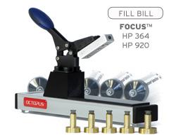 Fill Bill FOCUS™ H364 für HP 364, 903, 920, 934 und 935 Druckerpatronen