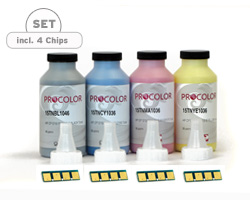 Refill Kit for Samsung CLP 320, CLP 325, CLX 3185 with Toner Powder and Supplie