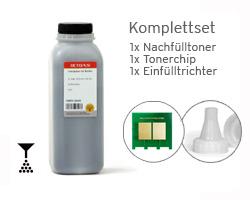 Kit per HP LaserJet P 1100, 1101, 1102, M 1210, 1212, con toner, chip