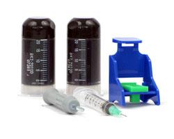 Refilladapter, 2x20ml Tinte für Canon PG-510, PG-512 schwarz